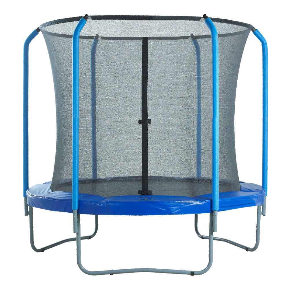 trampoline curved pole net