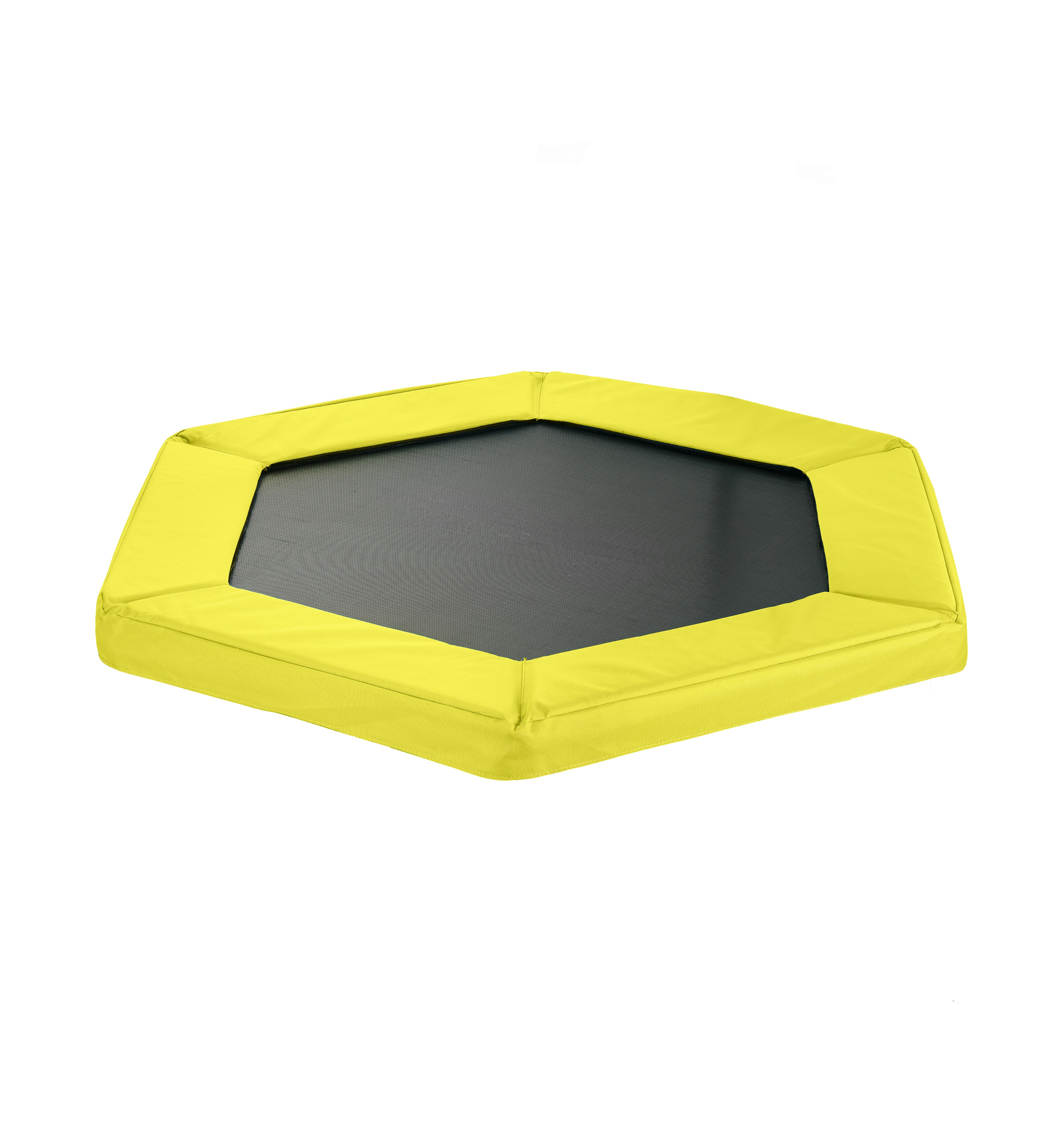 "Safety Pad for 127cm 50"" Hexagonal Rebounder Mini Trampoline - Pantone Yellow Oxford"