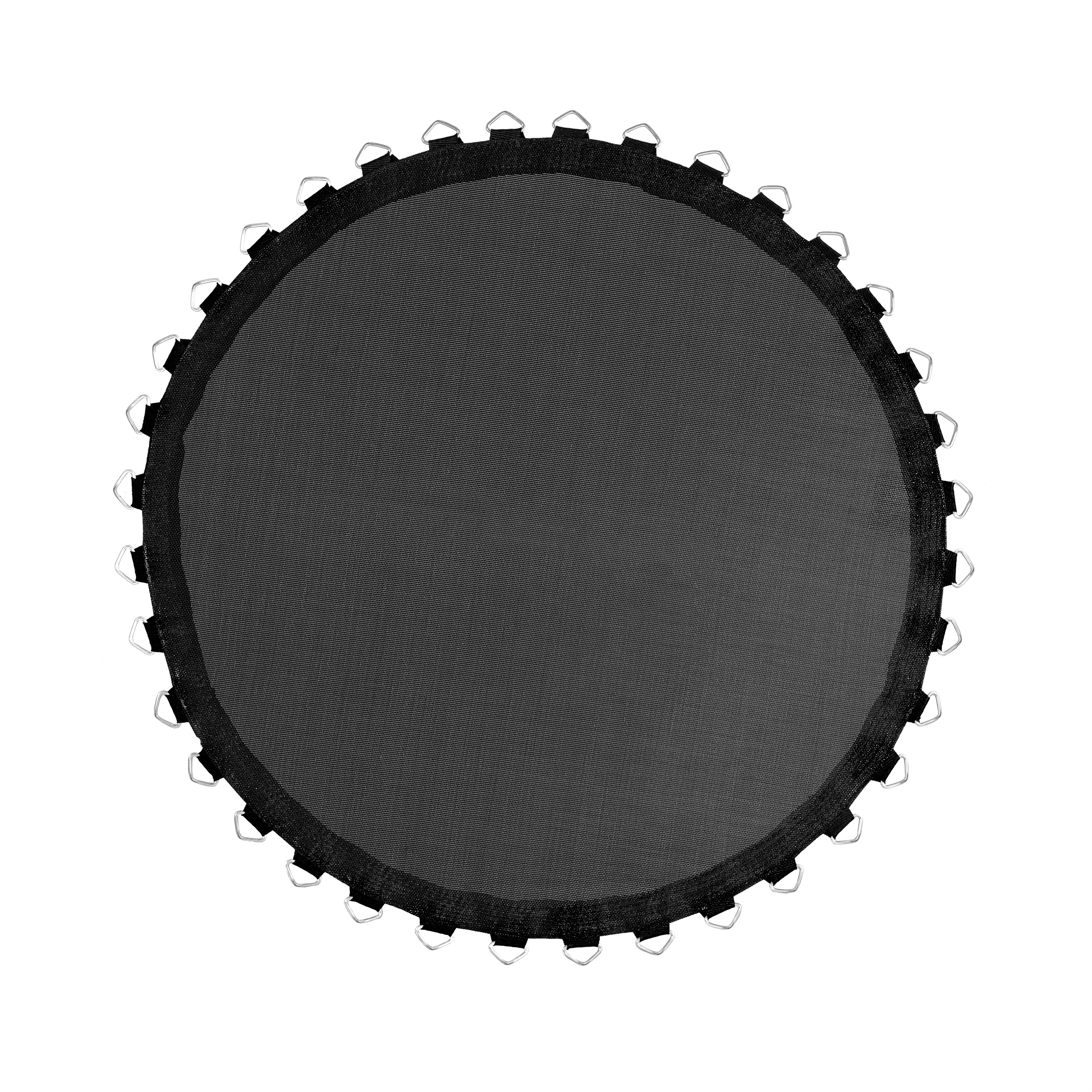 Mini Trampoline Replacement Jumping Mat, fits for 48 Inch Round Frames with 40 V-Rings using 3.5 Springs - Mat Only