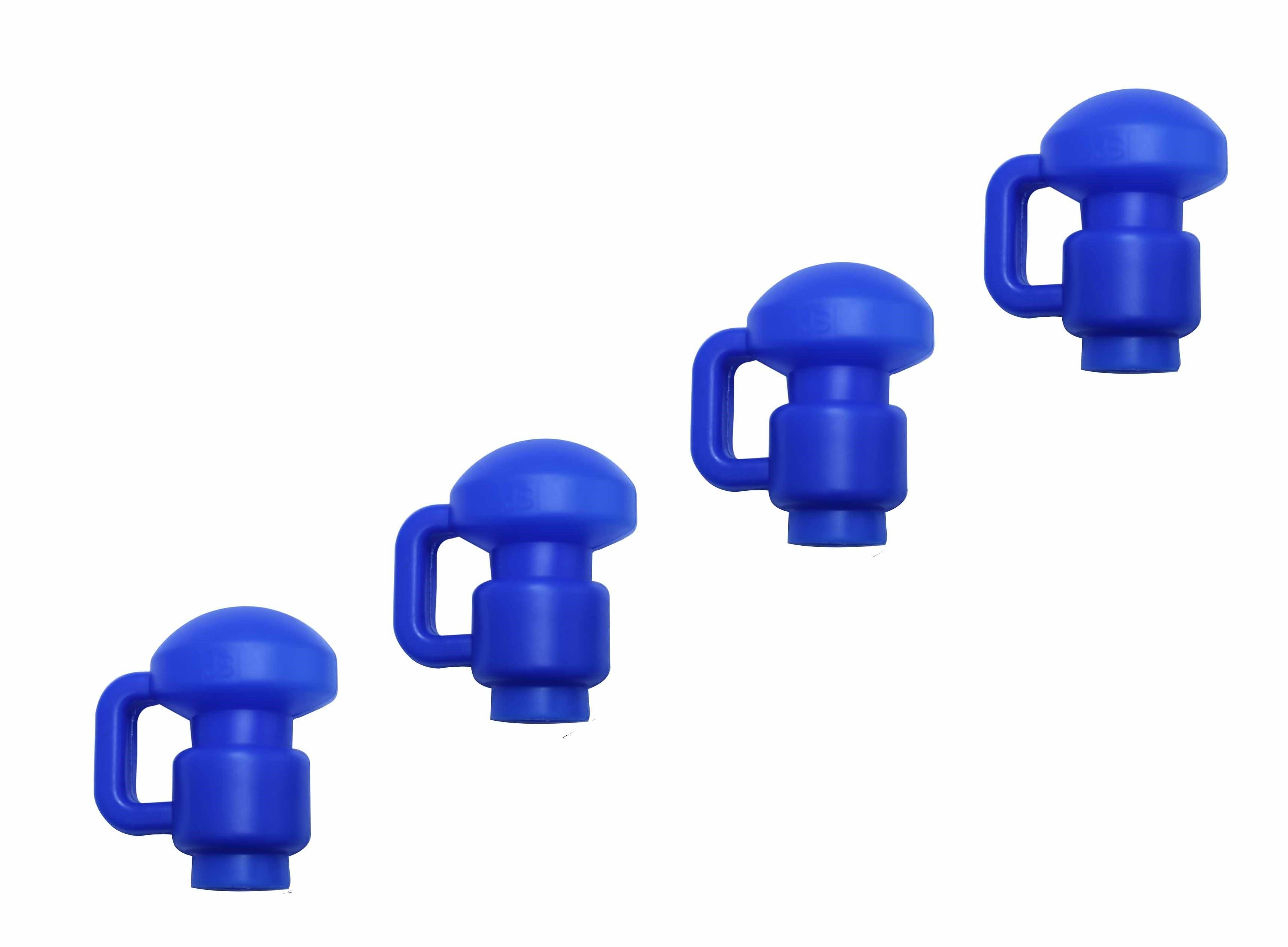 "Trampoline Pole Caps / Enclosure Net Hook - Fits for 1.5"" Diameter Pole - Set of 4"