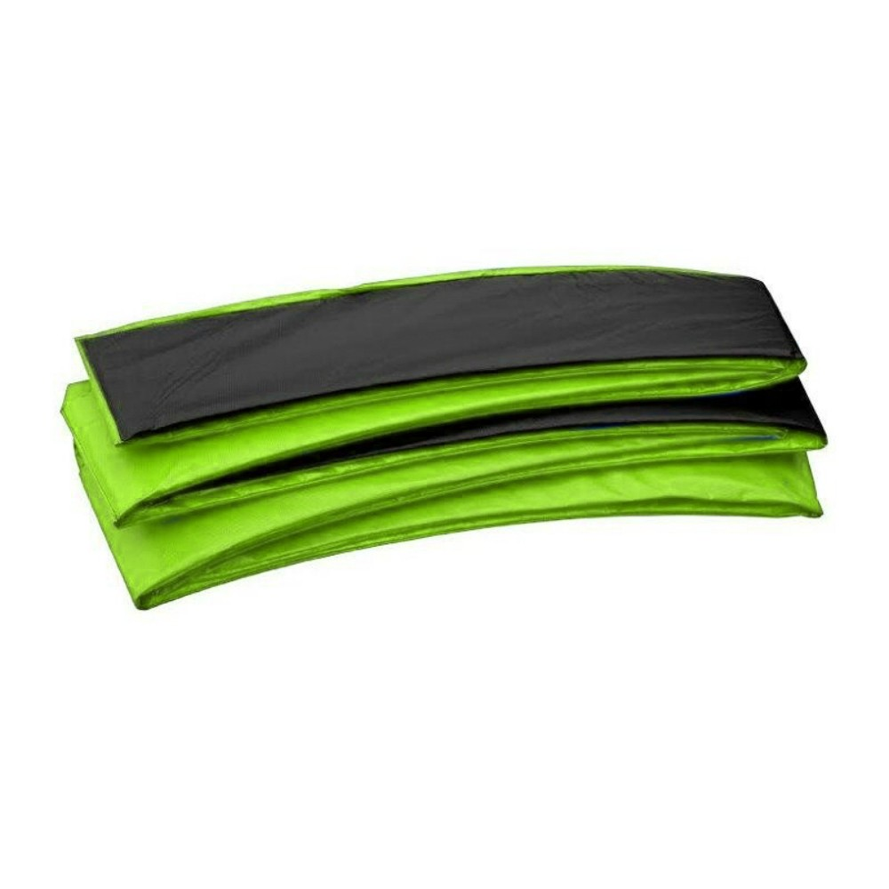 Super Trampoline Replacement Safety Pad (Spring Cover) Fits for 10 x 17 FT. Rectangular Frames - Black and Green