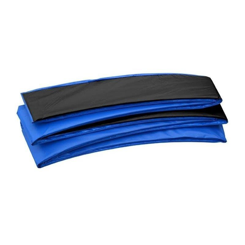 Super Trampoline Replacement Safety Pad (Spring Cover) Fits for 8 x 14 FT. Rectangular Frames - Black and Blue