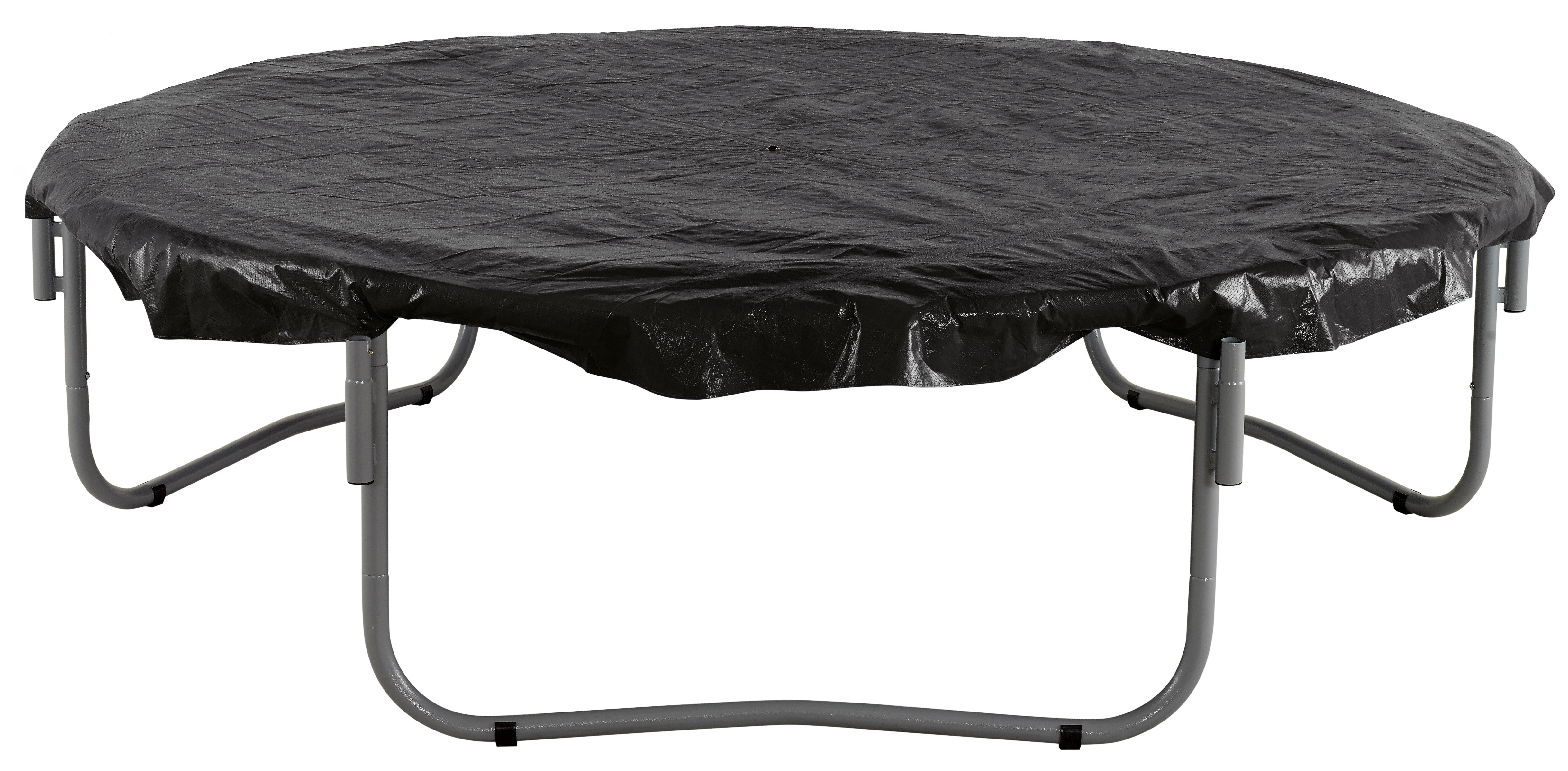 16ft Trampoline Cover - Waterproof and UV Cover for Weather, Wind, Rain Protection of Round Trampolines - Black