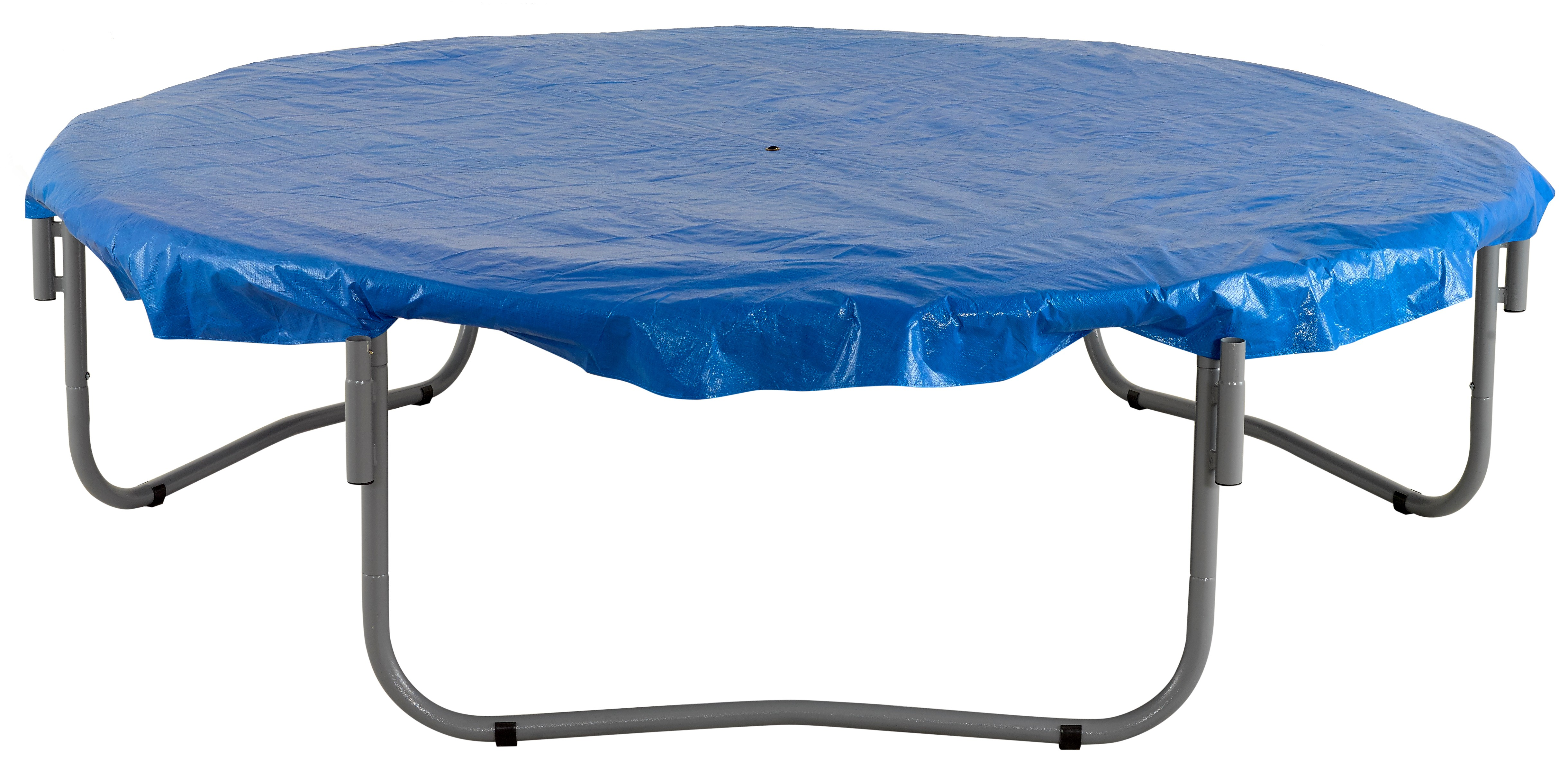 6ft Trampoline Cover - Waterproof and UV Cover for Weather, Wind, Rain Protection of Round Trampolines - Blue