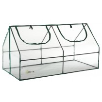 "Ogrow Small Garden Cloche Greenhouse - Mini Compact Outdoor PVC Greenhouse - 71"" W x 36"" D x 36"" H"