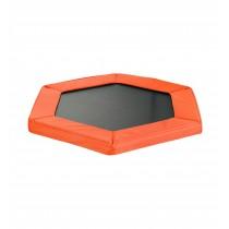 "Safety Pad for 127cm 50"" Hexagonal Rebounder Mini Trampoline - Pantone Orange Oxford"