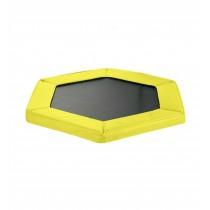 "Safety Pad for 127cm 50"" Hexagonal Rebounder Mini Trampoline - Pantone Yellow Oxford"