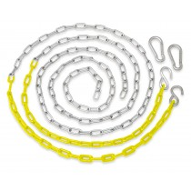 Swingan - Vinyl Coated Chain for Swing - Set of 2 - Yellow