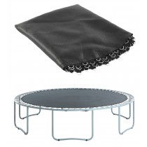 "Trampoline Replacement Jumping Mat, fits for 10 FT. Round Frames with 56 V-Rings using 7"" Springs - Mat Only"