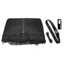 Trampoline Replacement Enclosure Net, fits for 12 FT. Round Frames (All Brands), Works with Multiple Amount of Poles