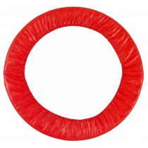 "40"" Mini Round Trampoline Replacement Safety Pad (Spring Cover) for 6 Legs - Red"