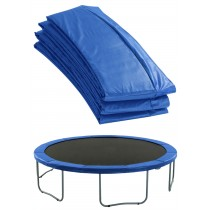 "Premium Trampoline Replacement Safety Pad (Spring Cover) Fits for 8 FT. Round Frames- 3/4"" Foam - Blue"