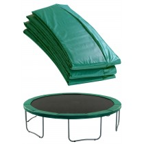 Premium Trampoline Replacement Safety Pad (Spring Cover) | Padding for 366cm 12ft Trampoline | Green