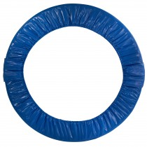 "40"" Mini Round Foldable Replacement Trampoline Safety Pad (Spring Cover) for 6 Legs - Blue"