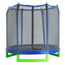 "Upper Bounce 7' Indoor/Outdoor  ""Classic"" Trampoline & Enclosure Set"