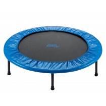 Upper Bounce 40in / 102 cm Rebounder - 2 Fold Mini Fitness Trampoline with Carry-on Bag Included