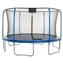 11Ft Large Trampoline and Enclosure Set | Garden & Outdoor Trampoline with Safety Net, Mat, Pad | Skytric
