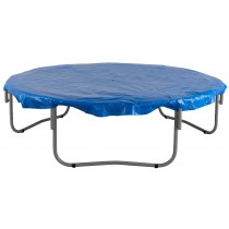 14ft Trampoline Cover - Waterproof and UV Cover for Weather, Wind, Rain Protection of Round Trampolines - Blue