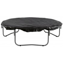 8ft Trampoline Cover - Waterproof and UV Cover for Weather, Wind, Rain Protection of Round Trampolines - Black
