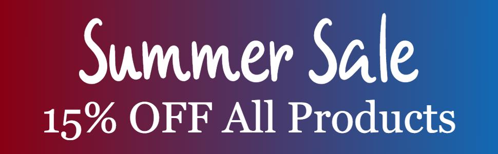 Summer Sale 15%
