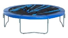 trampoline easy assemble disassemble feature